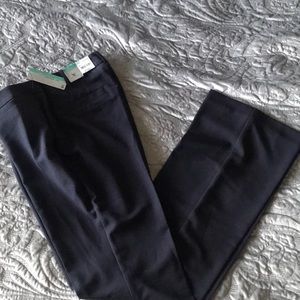 New Worthington Curvy Fit Navy Pants Size 8 Tall